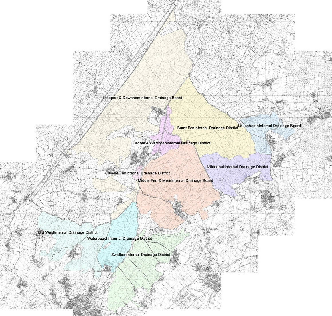 map of whole district